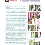 Ediciones Digitales Punto de Partida. A Schrift project by César Tejeda - 25.05.2021