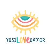 Logotipo yosoLOVEoamor. Un proyecto de Diseño, Ilustración y Publicidad de vireta - 01.03.2021