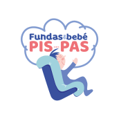 Logotipo Fundas de bebe PIS-PAS. Un proyecto de Diseño, Ilustración y Publicidad de vireta - 25.05.2021