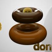 Don ·uts. Un proyecto de 3D, Dirección de arte y Diseño gráfico de David Brat - 26.05.2021