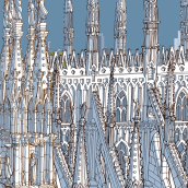 Popping Up Milano. A Design, Illustration, Music, Audio, Motion Graphics, Installations, Film, Video, TV, Animation, and Architecture project by Carlo Stanga - 05.27.2021