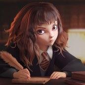 Hermione. A 3D project by Eduardo Gala - 02.09.2021