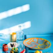 Fabien Cappello x HEM Offcut Plates 2021. Un proyecto de Diseño y Artesanía de Fabien Cappello - 29.05.2021
