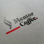 Mentor Coffee. Um projeto de Design gráfico, Br e ing e Identidade de Aitor Esteve Francés - 15.04.2021