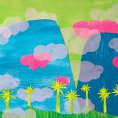 Mi proyecto del curso: lustración de historias con papel. Un progetto di Illustrazione, Collage, Papercraft , e Creatività di Ana Gabriela Balletta - 29.05.2021