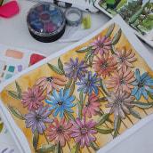 Mi Proyecto del curso: Creación de paletas de color con acuarela. Un proyecto de Ilustración, Bellas Artes, Pintura, Pintura a la acuarela y Teoría del color de Cintia Ramírez - 30.05.2021