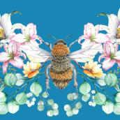 """"""" En mi jardín"""". Mi Proyecto del curso: Dibujo y composición naturalista en acuarela. Un progetto di Illustrazione, Disegno, Pittura ad acquerello e Illustrazione naturalista di Loli Crespo - 30.05.2021"""