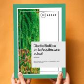 Brochure: Masdar - Jardines Verticales. Um projeto de Design, Publicidade, Design editorial e Design gráfico de Jesica Luz Novarese - 16.07.2020