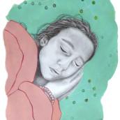 Mi Proyecto del curso: Retrato con lápiz, técnicas de color y Photoshop. A Illustration, Fine Art, Pencil drawing, Drawing, Digital illustration, Portrait illustration, and Portrait Drawing project by Myriam - 05.31.2021