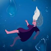Life stages of Hikari. Um projeto de Ilustração, Ilustração digital, Stor, telling, Narrativa e Desenho mangá de Suze Lawne - 24.02.2021