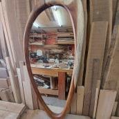 Espejo Caroní. A Design, Furniture Design, Industrial Design, Interior Design, and Woodworking project by Estudio Caribe - 06.03.2021