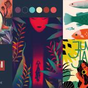 My project in Introduction to Invitation Design: From First Brief to Final Print course. Un progetto di Br, ing e identità di marca, Graphic Design , e Packaging di Maryam Atta - 29.05.2021