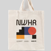 NWHR Branding Identity. A Design, Art Direction, Br, ing, Identit, Graphic Design, Product Design, Logo Design, and Fashion Design project by Marco Oggian - 06.03.2021