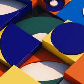 Mein Kursprojekt: Farben für 3-D-Designs und -Animationen. A Design, 3D, 3D Animation, 3d modeling, Design 3D, Digital Design, and Color Theor project by Soner Aktas - 06.04.2021