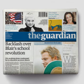 The Guardian: Defining the look of news in the 21st century. A Br, ing, Identit, Editorial Design, and Web Design project by Mark Porter - 06.04.2021