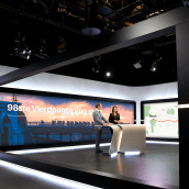 RTL Nieuws: A new face for TV news design. A Motion Graphics, Film, Video, TV, Br, ing & Identit project by Mark Porter - 06.04.2021