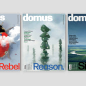 Domus: The iconic magazine of architecture and design. A Br, ing, Identit, Editorial Design, and Web Design project by Mark Porter - 06.04.2021
