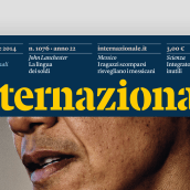 Internazionale: Italy's favourite independent magazine publisher. A Br, ing, Identit, Editorial Design, and Web Design project by Mark Porter - 06.04.2021