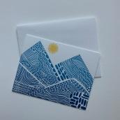 Hand Printed Cards. A Design, Bildende Künste, H und werk project by Jeanne McGee - 04.06.2021