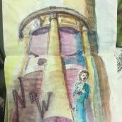 My project in Artistic Watercolor Sketching: Dare to Express Your Ideas course. Un proyecto de Ilustración, Bocetado, Creatividad, Dibujo, Pintura a la acuarela y Sketchbook de Marybeth Andrews - 02.06.2021