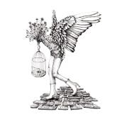 Mein Abschlussprojekt: Surrealistische Illustration mit Markern. Un proyecto de Ilustración, Dibujo a lápiz, Dibujo, Dibujo realista, Dibujo artístico e Ilustración con tinta de Jutta Kohlbeck - 08.06.2021