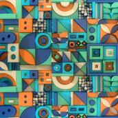 My project in Applied Color for 3D Design and Animation course. Un proyecto de Diseño, 3D, Animación 3D, Modelado 3D, Diseño 3D, Diseño digital y Teoría del color de Deepika Baghel - 08.06.2021