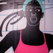 Nike Hausseman Paris Citadium. A Illustration, Motion Graphics & Installations project by Aurélia Durand - 06.09.2021
