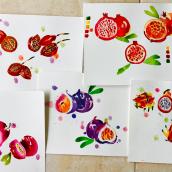 Mi cuaderno botánico: primeras páginas . Un proyecto de Ilustración, Pintura a la acuarela, Ilustración botánica y Sketchbook de Silvana Hernandez - 03.05.2021