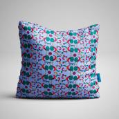 Meu projeto do curso: Desenho e composição de patterns têxteis. Escolhi como inspiração as formas abstratas de Kandinsky.. Um projeto de Moda, Pattern Design, Design de moda, Estampagem e Ilustração têxtil de Alessandra Bellard - 12.06.2021