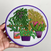 Plant Galore No. 2. A Stickerei project by Coricrafts - 09.06.2021