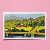 Gouache Paintings. Un projet de Illustration, Peinture , et Peinture gouache de Susan Yung - 14.06.2021