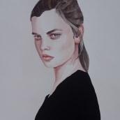 My project in Watercolor Portrait from a Photo course. Un proyecto de Ilustración, Pintura a la acuarela, Ilustración de retrato y Dibujo de Retrato de Ана Янева - 15.06.2021