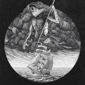 Streetlight Manifesto- Poseidon t-shirt. A Illustration project by Philip Harris - 01.31.2021