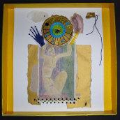 Mi Proyecto del curso: Técnicas de bordado experimental sobre papel. Um projeto de Artes plásticas, Colagem, Bordado e Ilustração têxtil de Ana Karina Moreno - 17.06.2021