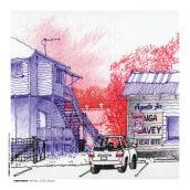 URBAN SKETCHES 2021/2. Un proyecto de Ilustración, Arte urbano, Bocetado, Dibujo a lápiz, Dibujo y Dibujo artístico de Alan Innes - 14.06.2021