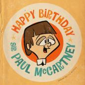 Feliz cumpleaños, Paul McCartney!. Un proyecto de Ilustración, Dibujo a lápiz, Dibujo y Dibujo digital de Ed Vill - 19.06.2021
