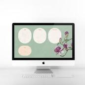 Fondo de pantalla organizador para ordenador iMac, Macbook y iPhone. Un projet de Illustration, Design graphique , et Conception mobile de Raquel Feria Legrand - 01.06.2021