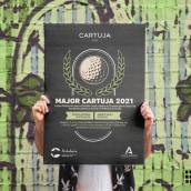 DISEÑOS DE CARTELES DE GOLF | EVENTOS JUNTA DE ANDALUCÍA. Un proyecto de Diseño, Ilustración, Diseño gráfico y Diseño de carteles de DIKA estudio - 24.05.2021