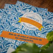 DISEÑO DEL RECONOCIMIENTO PARA EL COMERCIO TRADICIONAL MÁLAGA. Un proyecto de Diseño, Diseño editorial y Diseño gráfico de DIKA estudio - 01.06.2021