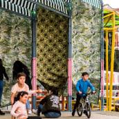 Le Jardin Tropicale. Un proyecto de Diseño, Arquitectura, Consultoría creativa, Eventos, Arquitectura interior, Diseño de interiores y Paisajismo de Enorme Studio - 23.06.2021