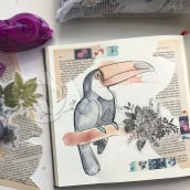Toucan. A Illustration, and Sketchbook project by Jenny Rae - 06.25.2021
