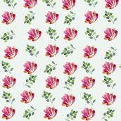 Mi Proyecto del curso: Acuarela botánica para estampados/ tarde. A Illustration, Musterdesign, Aquarellmalerei und Botanische Illustration project by Mariana Quinteros - 26.03.2021