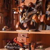 Armario de herramientas.. Un projet de Artisanat, Fabrication de meubles, Design d'intérieur, Créativité , et Charpenterie de Israel Martín - 28.06.2021