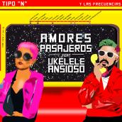 """Tipo """"N"""" y Las Frecuencias -""""Amores Pasajeros"""" Feat. Ukelele Ansioso (Lyric Video). Un projet de Cinéma, vidéo et télévision, Animation, Vidéo, Animation de personnage, Animation 2D, Créativité , et Edition vidéo de Leonel Crets - 29.06.2021"""