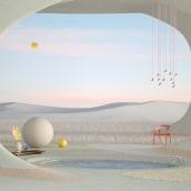 Poética de la Libertad. Un progetto di Illustrazione, 3D, Architettura, Direzione artistica, Scenografia, Modellazione 3D , e Progettazione 3D di Francisco Cortés - 20.06.2021