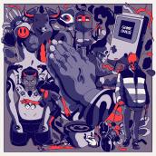 Ilustracion 2021 (part1). Um projeto de Ilustração, Publicidade e Direção de arte de Tavo Santiago - 29.06.2021