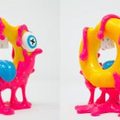 Quieres una dona? . A Design, 3-D, Spielzeugdesign, 3-D-Modellierung, Design von 3-D-Figuren und Art To project by carlos.delarosac - 30.06.2021