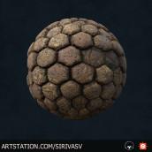 Mi Proyecto del curso: Introducción a la creación de texturas con Substance Designer. A 3D, 3d modeling, and Video game project by Saul Ivan Rivas Vega - 06.29.2021