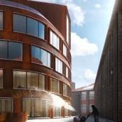 Snow Alley - Tomorrow Challenge 2018. Un proyecto de 3D, Arquitectura, Postproducción, Modelado 3D, Ilustración arquitectónica y Visualización arquitectónica de Sonny Holmberg - 01.01.2018