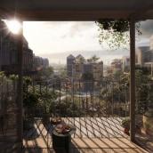 Vejlandskvarteret. Un proyecto de 3D, Arquitectura, Postproducción, Modelado 3D, Ilustración arquitectónica y Visualización arquitectónica de Sonny Holmberg - 07.11.2019